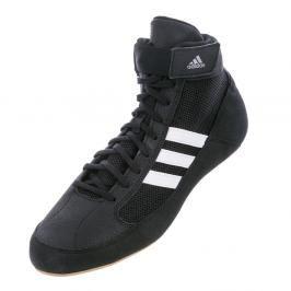 Dětská zápasnická obuv adidas HVC - černá/hnědá černá 3,5