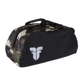 Sportovní taška GYM Fighter - černá/maskáč černá