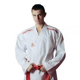 Hayashi kumite kimono Flexz WKF approved - Bílá/červená bílá 170