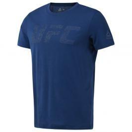 Reebok triko UFC Logo - modrá modrá M