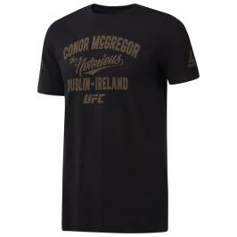 Reebok triko UFC PRIDE - Conor McGregor černá XL