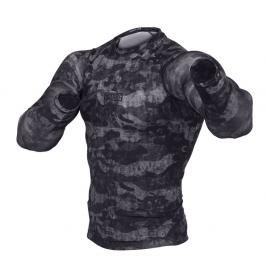 Rash guard Fighter - Urban Camo -černá černá M