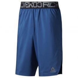 Reebok šortky Combat Boxing - modré modrá S