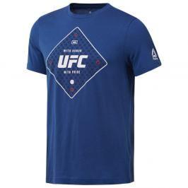Reebok Triko UFC - modrá modrá M