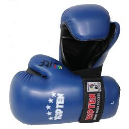 Otevřené rukavice Top Ten ITF - modrá modrá M