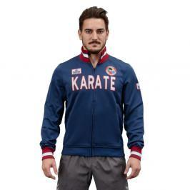 Karate mikina Daedo Slim - modrá/bílá modrá M