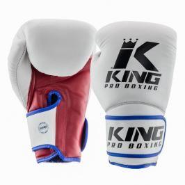 King Pro Boxing boxerské rukavice - tricolor trikolora 12