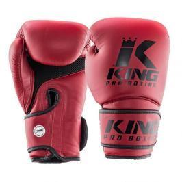 King Pro Boxing boxerské rukavice - vínová vínová 12