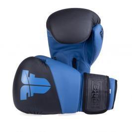 Boxerské rukavice Fighter SPLIT- černá/modrá černá 10