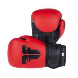 Boxerské rukavice Fighter SIAM - červená červená 8