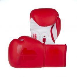 Boxerské rukavice Fighter Competition Pro - červená červená 8