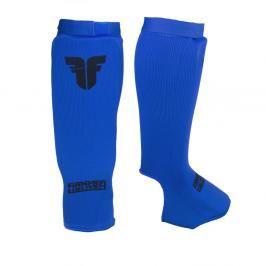 Chránič holení a nártů Fighter Competition - modrá modrá S