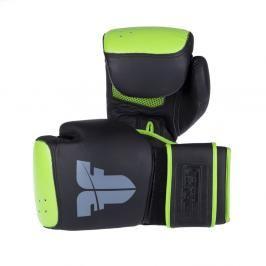 Pytlové rukavice Fighter Safety - černá/zelená černá S