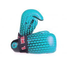 Otevřené rukavice Top Ten Glossy - modrá/černá modrá XS