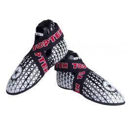 Chrániče nohou TOP TEN Triangel - bílá/černá černá S