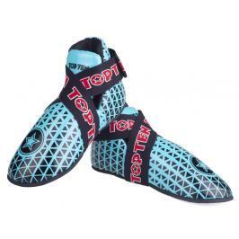 Chrániče nohou TOP TEN Triangel - modrá/černá černá XS