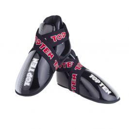 Chrániče nohou TOP TEN Acceleration - černá/bílá černá S