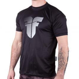 Tréninkové triko Fighter - černá černá XS