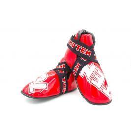 Chrániče nohou Top Ten SuperLight glossy - červené červená L