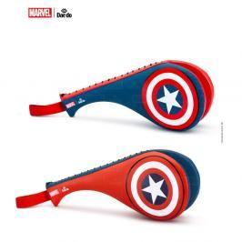 Lapa TKD DAEDO dvojitá dětská, junior - Captain America modrá XS