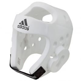 Přilba adidas TKD - bílá bílá XS
