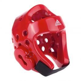 Přilba adidas TKD - červená červená XL
