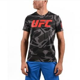 Reebok pánské triko UFC Camo - maskáč maskáč S