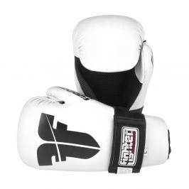 Otevřené rukavice Fighter Strap - bílá bílá XS