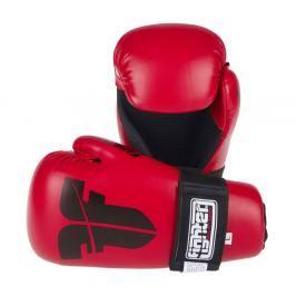 Otevřené rukavice Fighter Strap - červená červená XS