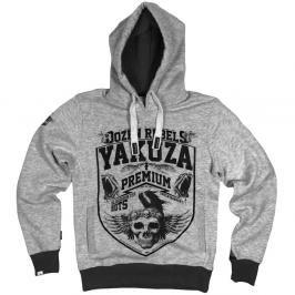 Mikina Dozen Rebels Yakuza Premium - šedá šedá XXL