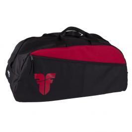 Sportovní taška GYM Fighter - černá/červená černá