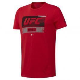 Reebok Triko UFC Fight Week- červená červená M