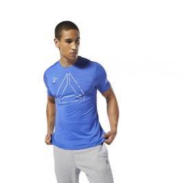 Reebok Activchill triko - modrá modrá S
