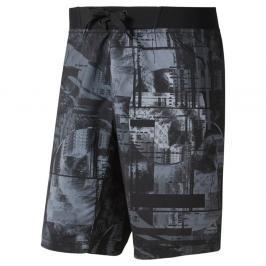 Reebok Moonshift šortky - černá/modrá černá S