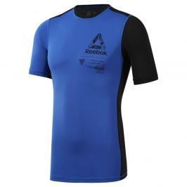 Reebok kompresní triko - modrá/černá modrá S