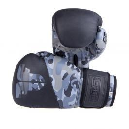 Boxerské rukavice Fighter SPLIT- černá/maskáč černá 10