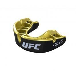 Chrániče zubů - OPRO UFC - GOLD level - černá/zlatá černá