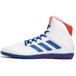 Boty adidas Mat Wizard 4. - bílá/modrá/červená bílá 7