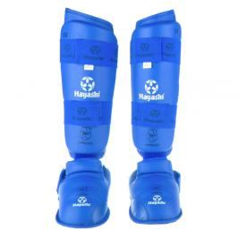 Chrániče holení a nártů Hayashi WKF - modrá modrá L