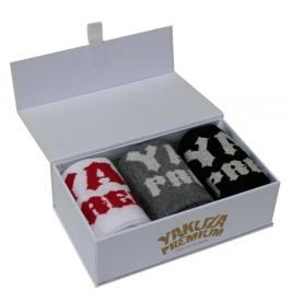 Ponožky Yakuza Premium mix barev 38-40