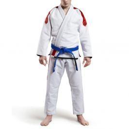 Grips Classic Logo BJJ kimono - bílá/červená bílá A3