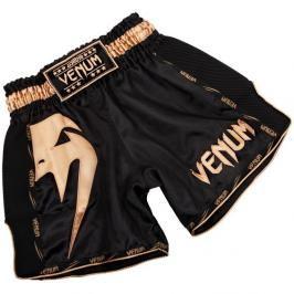 Venum Giant Muay Thai trenky - černá/zlatá černá S
