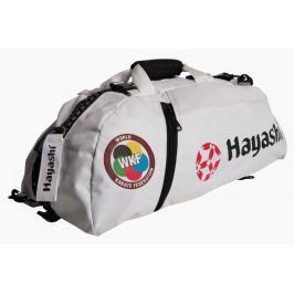 Hayashi taška / batoh Combo WKF bílá L bílá