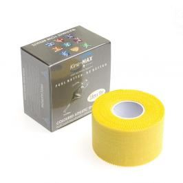 Neelastická tejpovací páska Kine-MAX Team Tape - žlutá žlutá 3,8cm x 10m