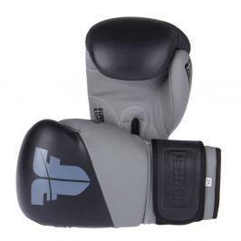 Boxerské rukavice Fighter SPLIT- černá/šedá černá 10