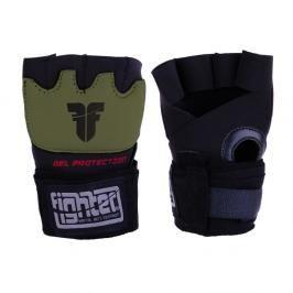 Gelové bandáže Fighter Strap- černá/khaki Khaki S/M