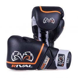 Boxerské sparingové rukavice Rival Ergo Laces - černá černá 16