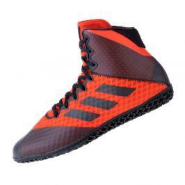 Zápasnické Boty adidas Mat Wizard 4. - černá/červená černá 8