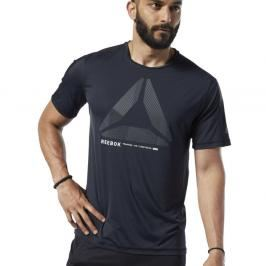 Reebok tréninkové tričko ActiveChill - černá černá S