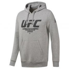 Reebok UFC Fan mikina - šedá šedá S